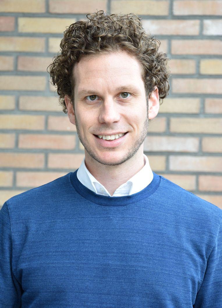 Onderzoeker Joris Demmers van de Amsterdam Business School, Universiteit van Amsterdam. Beeld -