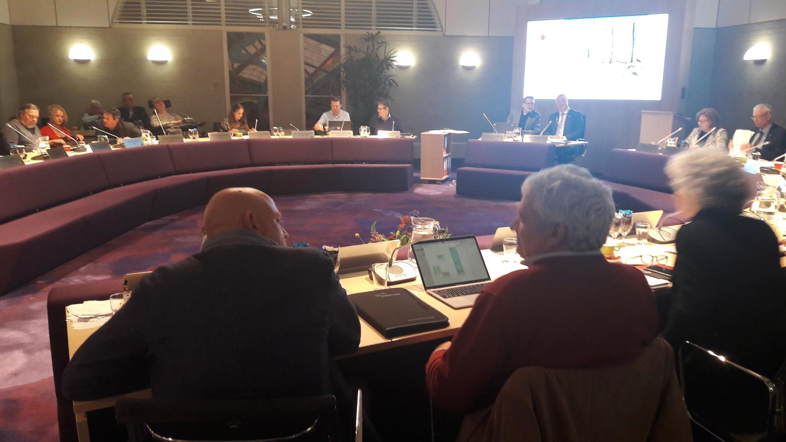 De laatste gemeenteraad in Goirle voor de verkiezingen.