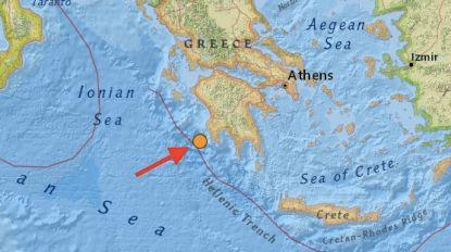 Griekse schiereiland Peloponnesos getroffen door aardbeving