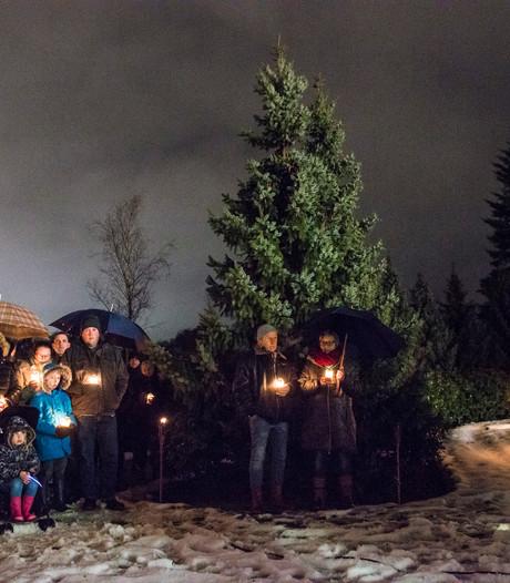 Sfeer en emotie op lichtjesavond in Rijssen