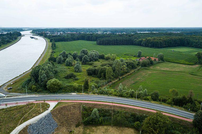 De windmolens die op deze locatie zouden komen in Zandhoven zijn afgekeurd.