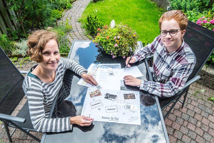 Pitti en Stach Redeker hebben een online escaperoom ontworpen