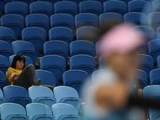 Fans vallen in slaap bij 'nachtpartij' Muguruza-Konta