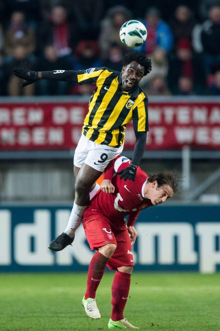 Bony en Twente-speler Schilder. Beeld anp