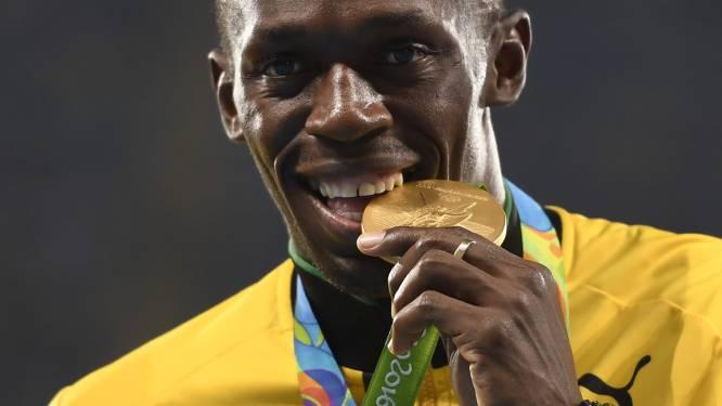 Schoen van Usain Bolt geveild voor 16.000 euro