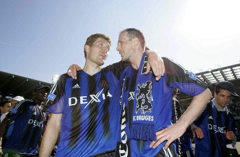 Met Gert Verheyen - straks zijn T2 - kampioen in 2005.