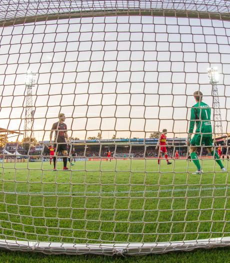 Jong FC Utrecht scoorde nog niet in de Adelaarshorst