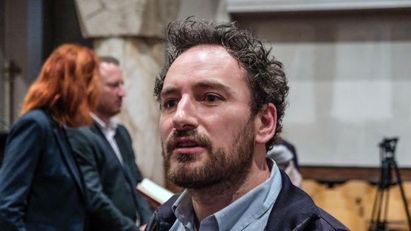 Coördinator Matthijs Roets.