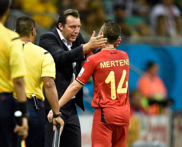 Wilmots leidde de Rode Duivels naar het WK 2014 en het EK 2016, maar werd daarna ontslagen.