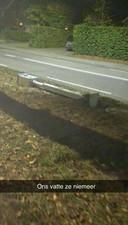 Flitspaal ligt binnen 24 uur om langs de Oisterwijkseweg in Moergestel
