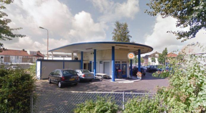 Het voormalige tankstation De Driesprong aan de Teteringsedijk in Breda.