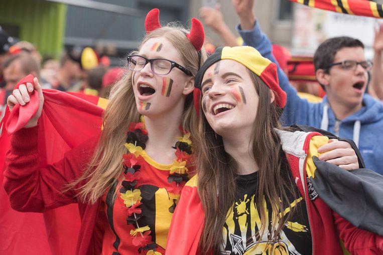 Duivels-gekte in Oudenaarde tijdens het EK voetbal vorig jaar. Volgend jaar is het weer van dat.