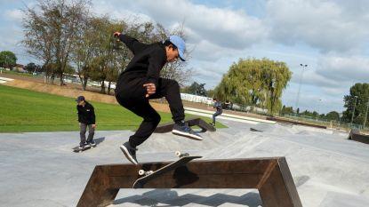 Nieuw skatepark in Park Groot Schijn