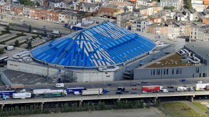Verkeershinder aan Antwerps Sportpaleis door wateroverlast