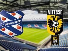 Vitesse op bezoek bij Heerenveen na Europese kater