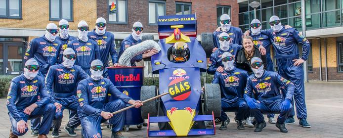 De carnavalsgroep Super-Maan uit Maastricht