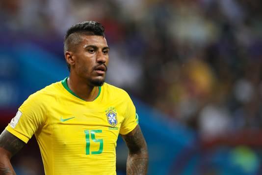 Paulinho werd met Brazilië uitgeschakeld op het WK.