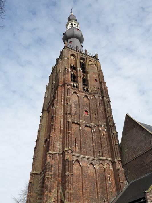 De kerktoren van Hilvarenbeek.