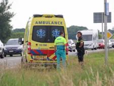 Vrouw op scooter gewond bij ongeval in Serooskerke