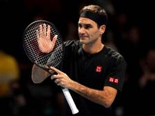 Federer herstelt zich bij ATP Finals