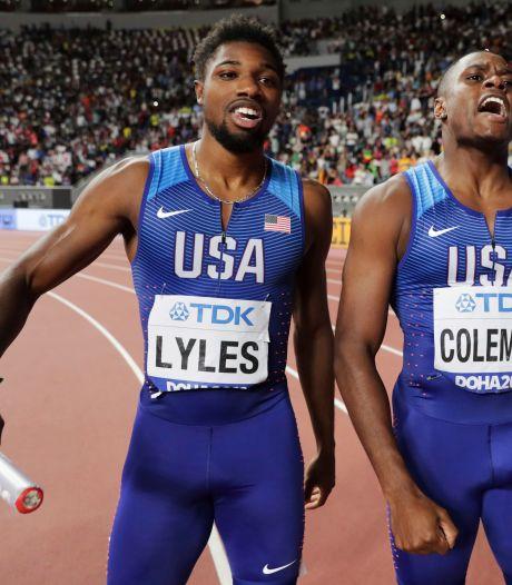 Lyles tikt rivaal en teamgenoot Coleman op de vingers vanwege 'onverantwoordelijk gedrag'