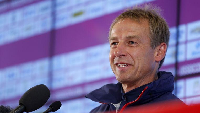 Jürgen Klinsmann Beeld ap