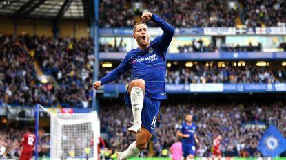 """Ook trainer Sarri hoopt op contractverlenging van Hazard: """"Hij kan bij Chelsea de Ballon d'Or winnen, daarvoor moet hij niet in Spanje spelen"""""""