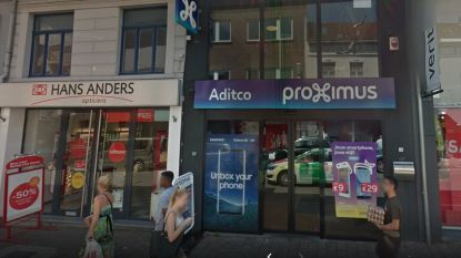 Inbrekers roven Proximus-filiaal leeg: buit goed voor tienduizenden euro's