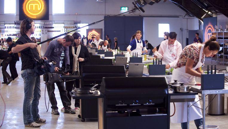 De kookhype op televisie weet van geen wijken. Renate Verbaan presenteert vanaf zondag de Nederlandse versie van de wereldwijde tv-hit MasterChef. Foto GPD Beeld