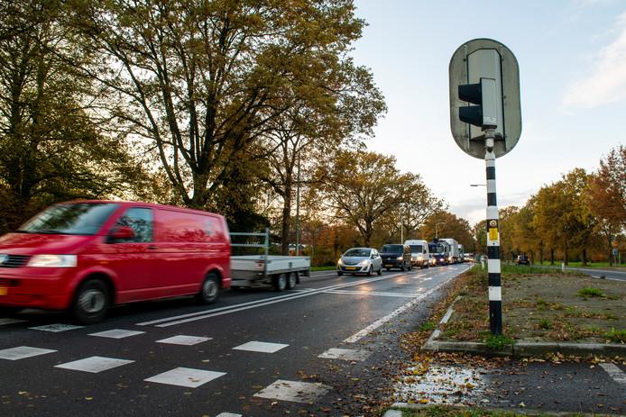 In de spits is het altijd aanschuiven op de N35 die van Zwolle naar Twente loopt.