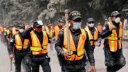 VIDEO. Vulkaan barst plots nóg eens uit in Guatemala, baby als bij wonder gered van onder puin