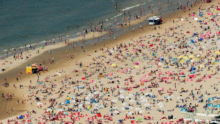 Het strand bij Zandvoort Beeld ANP