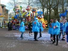 Verbranding van 'd'n bok' op Meanderplein in Bokkendonk