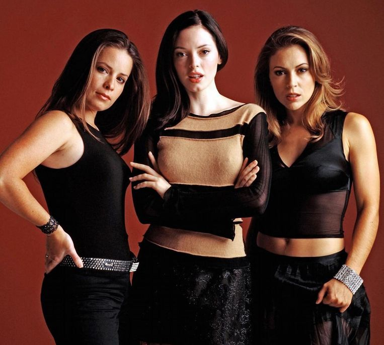 Midden: Rose McGowan als Paige in 'Charmed'
