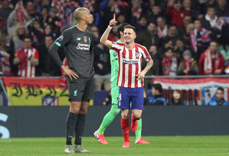 Saul Niguez scoorde de enige goal.