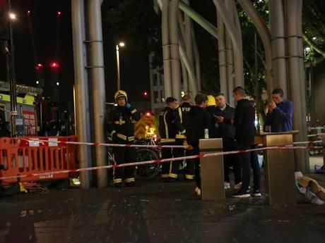 Mensen in Londen besproeid met bijtende stof