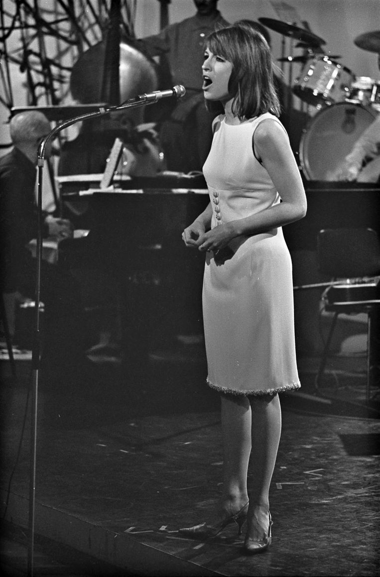 Knokke Songfestival in 1964.  Beeld ANP