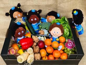Aftellen naar Sint doet je kroost dankzij deze kalender niet met chocolade, wel met groenten en fruit