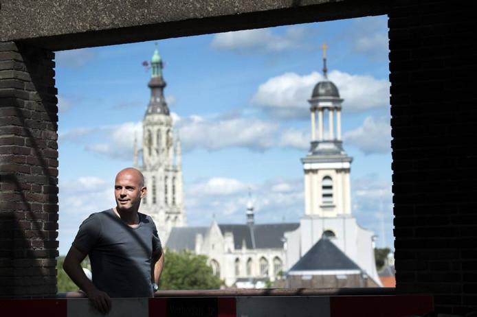 Volgens architect Dennis de Poorter beschikt Breda nog over volop ruimte en dus groene kansen. foto ron magielse/ pix4profs