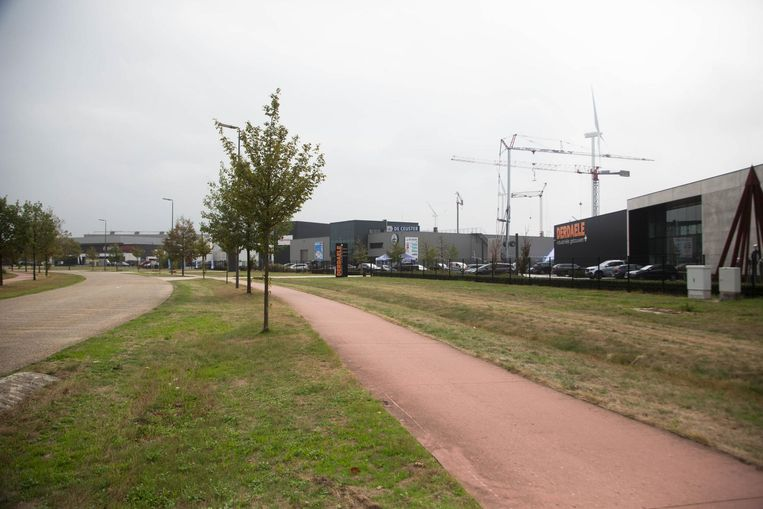 Het Kristalpark, de locatie waar het grootste zonnepark van de Benelux komt.