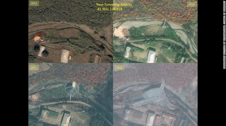 Satellietbeelden tonen mogelijk nieuwe raketbasis in Noord