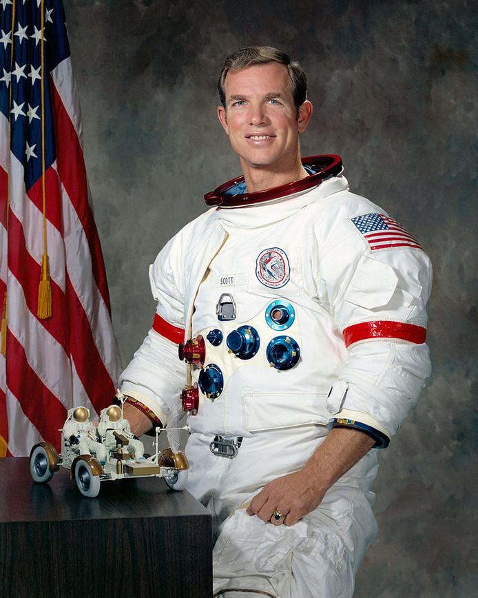 Maanreiziger David Scott