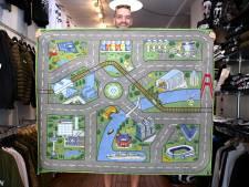 Hoe gers is dát: Rotterdams speelkleed met de Markthal, de Erasmusbrug en De Kuip