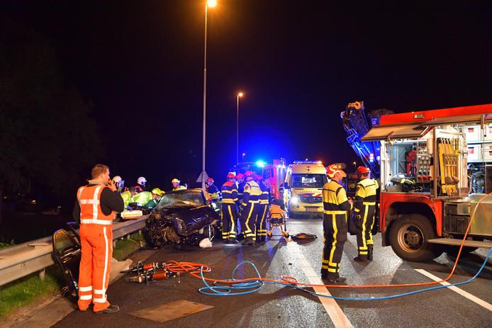 Zwaar ongeluk op A58 bij Tilburg