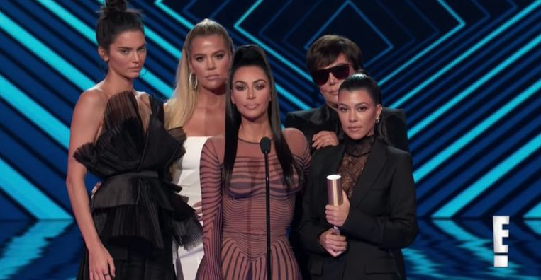 De Kardashians op de People's Choice Awards 2018