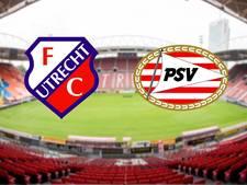 FC Utrecht altijd lastige opponent voor PSV