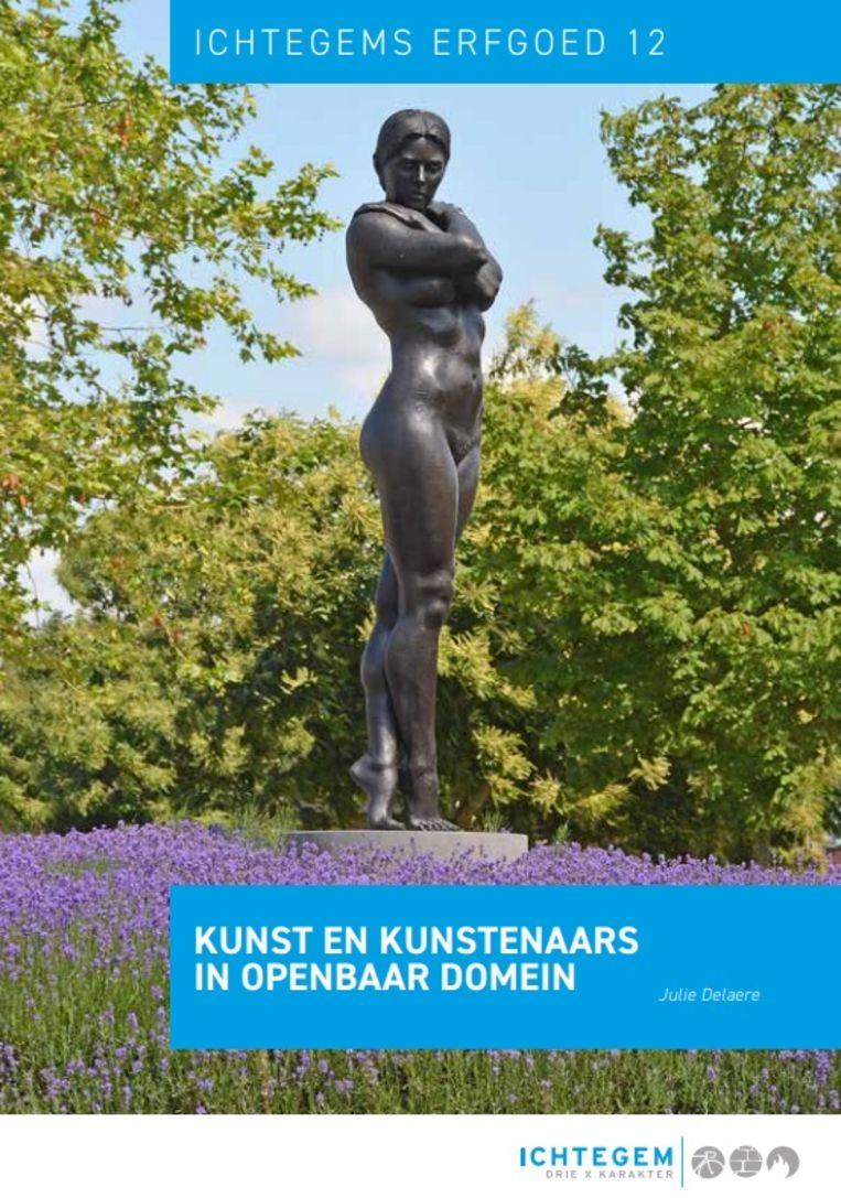 De nieuwe erfgoedbrochure focust op beelden in de publieke ruimte