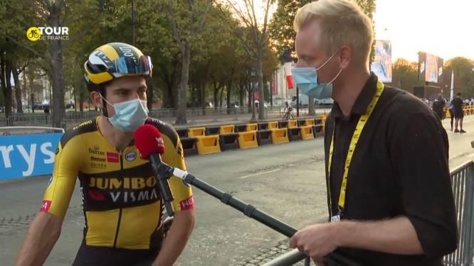 """Wout van Aert: """"Dit was een fantastische Tour, nu heb ik de ambitie om wereldkampioen te worden"""""""