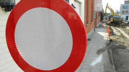 Nieuwstraat vanaf dinsdag dicht voor herstelling verzakkingen