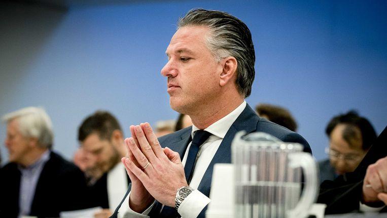 Mattijs Manders, directeur van ADO Den Haag, tijdens de zitting. Beeld anp
